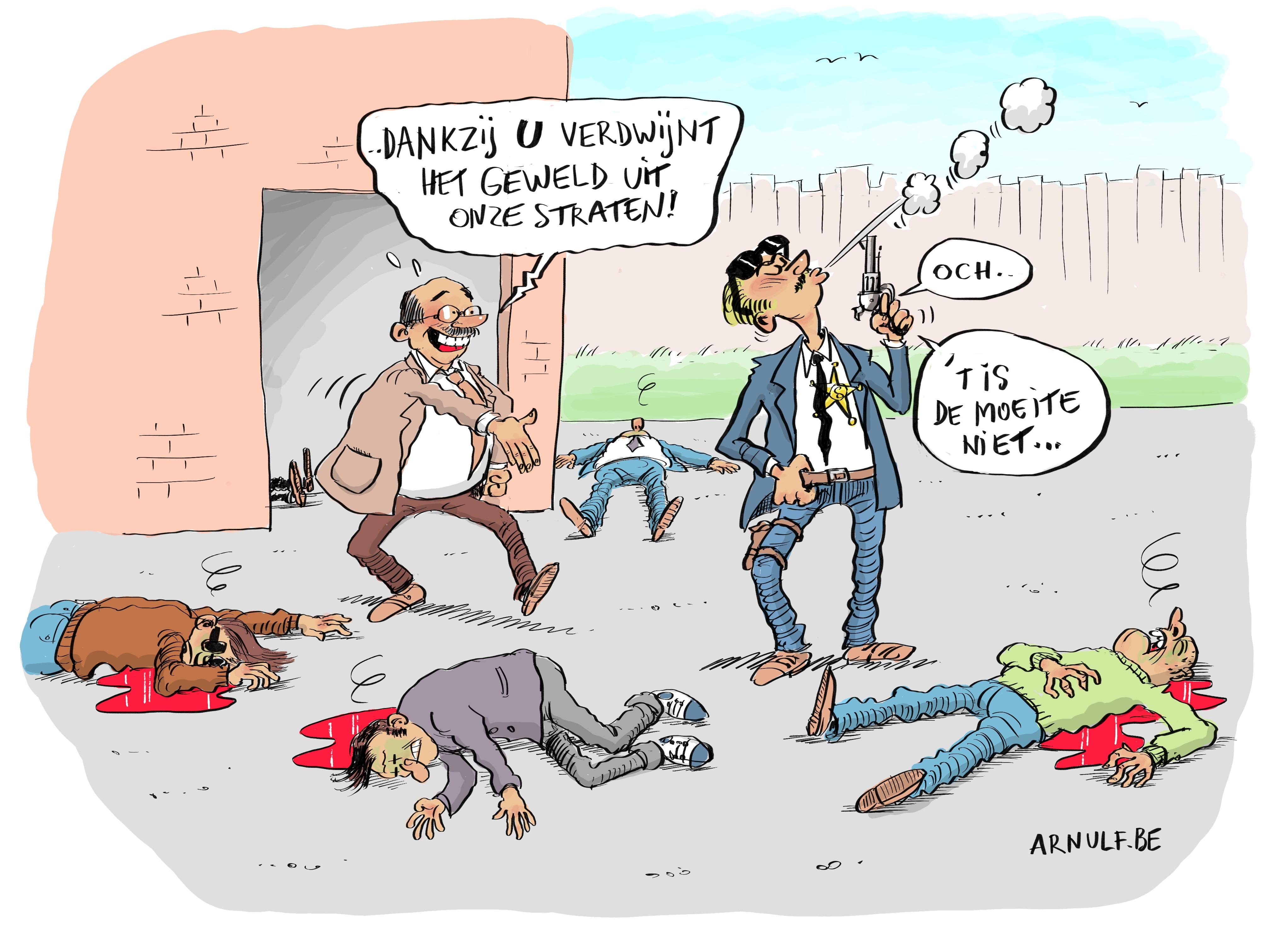Cartoon Lennart