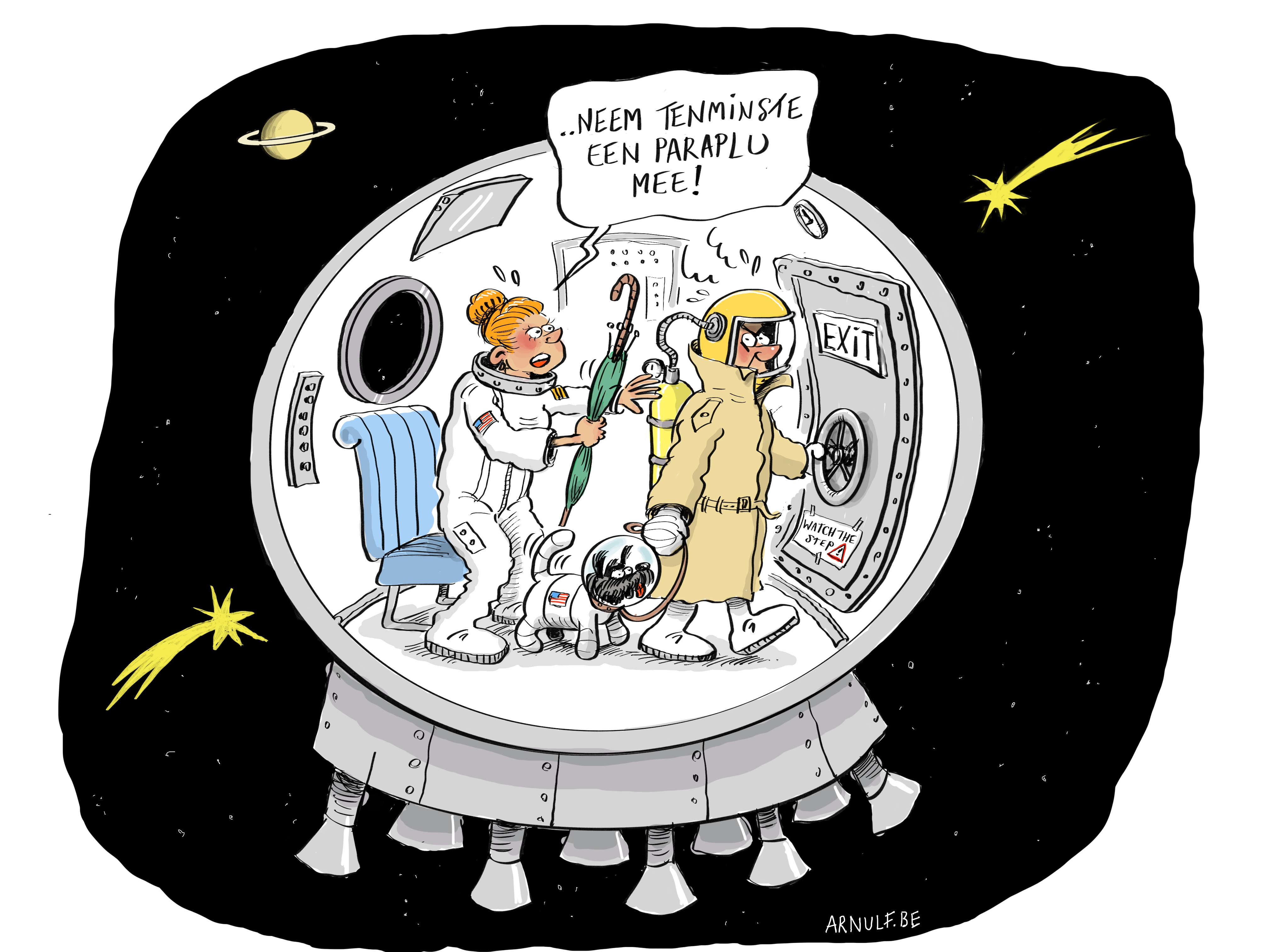 Cartoon Nicolas